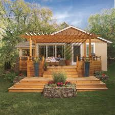 create a backyard oasis family handyman
