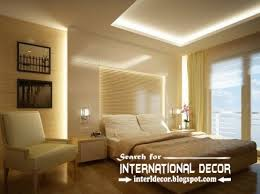 Modern Ceiling Design For Bedroom Modern Plaster Bedroom Ceiling And Led Lights ιδέες για το σπίτι