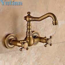 wholesale kitchen faucet wholesale kitchen faucet torneira wall mounted antique brass