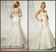 lace low back wedding dress with sleeves digitalrabie com