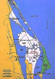 port canaveral map cape canaveral