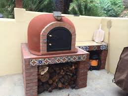 Chiminea With Pizza Oven Chiminea Clay Outdoor Fireplace Plansfarmhouses U0026 Fireplaces