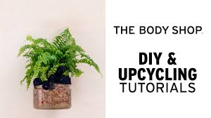 how to diy self watering plant pot the body shop youtube