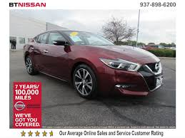 nissan maxima zero down lease certified pre owned 2017 nissan maxima sv 4dr car in vandalia