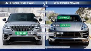 porsche macan length range rover velar vs porsche macan is velar enough to beat