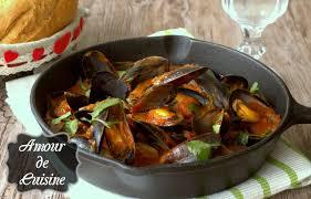 cuisine tomate moules à la provençale sauce tomate amour de cuisine