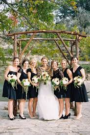 black bridesmaid dresses 30 beautiful and black bridesmaid dresses chic