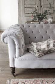 Grey Velvet Sofa by Best 25 Velvet Chesterfield Sofa Ideas On Pinterest