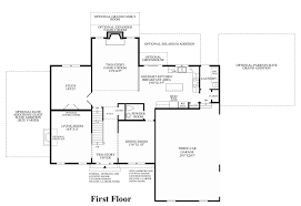 Georgian Floor Plan by Westridge Estates Of Canton The Columbia Ii Home Design