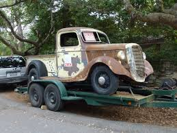 Ford Vintage Truck For Sale - classic cars seen on the street in carmel and monterey last week