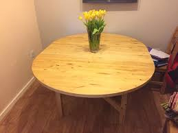 ikea u0027norden u0027 round extendable dining table in stafford