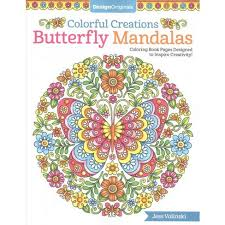 coloring book pages designs colorful creations butterfly mandalas coloring book pages designed