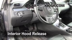 Volkswagen Cc 2014 Interior Open Hood How To 2009 2016 Volkswagen Cc 2009 Volkswagen Cc