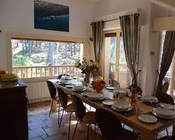Landes Dining Room Executive Hossegor Surf Villa Set In A Peaceful Forest 500m To Le