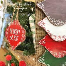 personalized ornaments southern soule designs