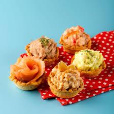 m canapes mini tart canapés order