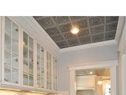ceiling interesting faux tin ceiling tiles with recessed lighting