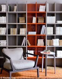 des bibliothèques qui font salon elle décoration