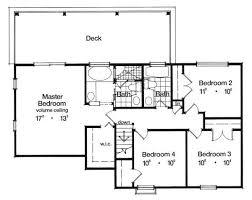 floor plans 2000 square feet 4 bedroom home deco plans