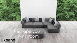 stratus modular sofa for apartments youtube