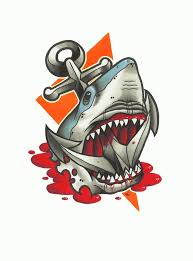 shark flash pictures to pin on tattooskid