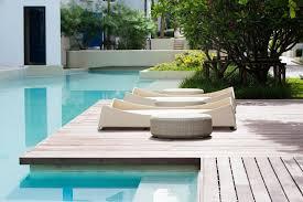Modern Pool Furniture by Modern Landscape Design Examples