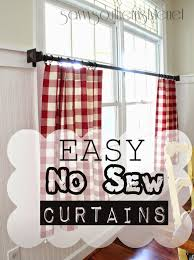 Really Curtains The Mister Made Easy No Sew Curtains Savvy Southern Style