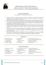 updated resume formats