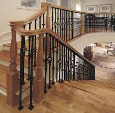 custom iron stair balusters traditional staircase chicago