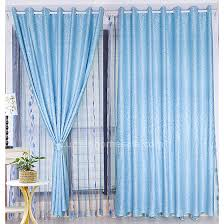 Bedroom Curtains Blue Simple Custom Made Living Room Dining Room Or Bedroom Light Blue