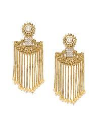 gunmetal chandelier earrings chandelier earrings buy chandelier earrings online in india