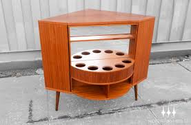 Mid Century Corner Cabinet Corner Bar Table Interiors Design