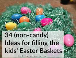 basket fillers 34 easter basket ideas alternatives to candy