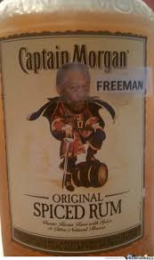 Captain Morgan Meme - captain morgan freeman by recyclebin meme center