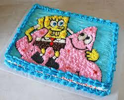 sponge bob cakes behance