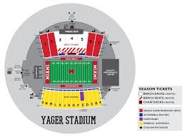 Frontier Seat Map Miami University Redhawks Official Athletic Site Miamiredhawks Com