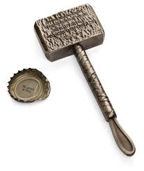 hammer of thor bottle opener thinkgeek