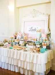 tea party bridal shower tea party pastel dessert table vintage garden tea party
