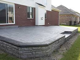 Cost Of Stamped Concrete Patio by Price For Concrete Patio Home Design Ideas And Pictures