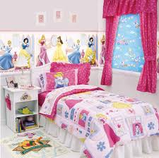 kids room beauty disney princess wall decal with white lacquered disney princess themed kids bedroom colorful gingham disney princess pink flower pattern fabric curtain white lacquered