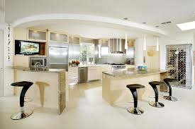 Kitchen Lighting Ideas No Island Awesome Kitchen Designs With Light Brown Counter And Cool Pendant