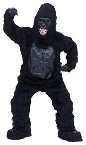 Bigfoot Halloween Costume Kids Monkey Ape Gorilla Bigfoot Sasquatch Chimp Mascot Costumes