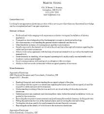 Electrician Apprentice Resume Examples Apprentice Resume Samples Free Word Format Best Free Templates