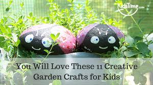 Garden Crafts For Kids - you will love these 11 creative garden crafts for kids