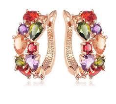 saudi arabia gold earrings design saudi arabia gold earrings wedding jewelry