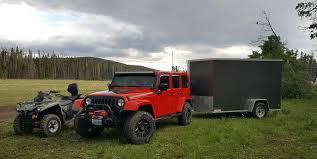 jeep wrangler cargo trailer 6 x 12 cargo trailer u haul impressive project on h3