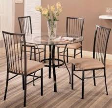 Round Glass Kitchen Table Sets Foter - Kitchen glass table