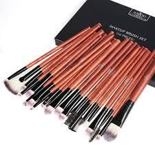 anjou makeup brushes 24 pieces professional eye makeup cosmetics