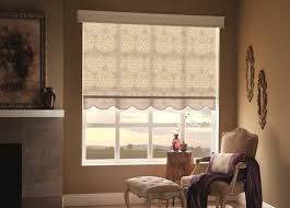 Budget Blinds Utah By Combining A Floral Print And Cornice The Roller Shade Helps