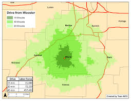 Map Of Medina Ohio by Wayne County Ohio Economic Development Council Employment